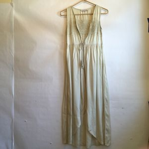 URBAN OUTFITTERS GLAMOROUS MAXI LENGTH VEST
